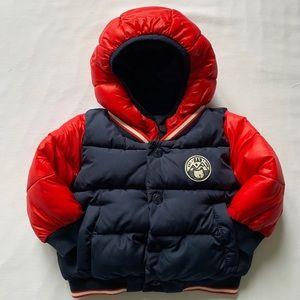 Baby Gap ColdControl Max Varsity Puffer Jacket